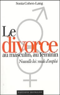 Deedr.fr Le divorce au masculin, au féminin Image