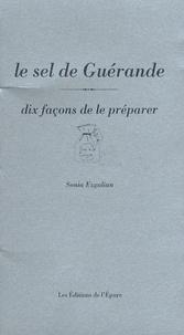 Sonia Ezgulian - Le sel de Guérande - Dix façons de le préparer.