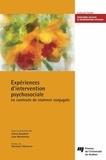 Sonia Gauthier et Lyse Montminy - Expériences d'intervention psychosociale en contexte de violence conjugale.