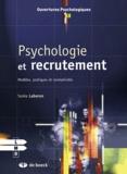 Sonia Laberon - Psychologie et recrutement - Modèles, pratiques et normativités.