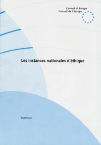 Openwetlab.it LES INSTANCES NATIONALES D'ETHIQUE Image
