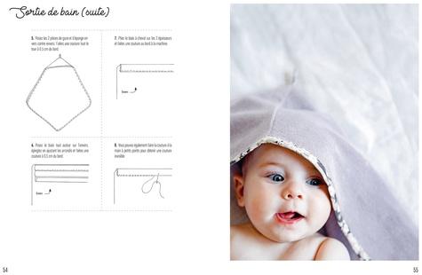 Les indispensables de bébé. 10 modèles faciles - 1 projet en 2H