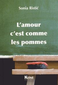 Feriasdhiver.fr L'amour c'est comme les pommes - Recueil de petites formes théâtrales pour enfants Image