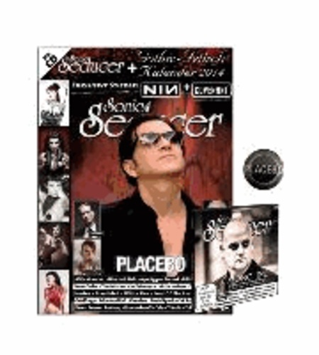 Sonic Seducer 09/2013. Limited Edition - + CD + 2 exkl. Sticker + Placebo-Button.
