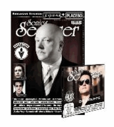 Sonic Seducer 11/2013 - + 2 Sticker von Placebo & In Extremo + CD.