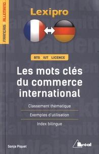 Sonja Piquet - Les mots-clés du commerce international.