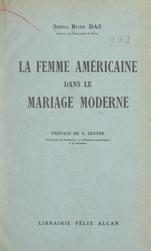 La femme américaine dans le mariage moderne