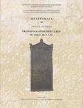 Sophia-B Zoumbaki - Prosopographie der Eleer - Bis zum 1. Jh. v. Chr..