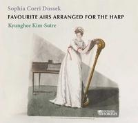 Sophia Dussek et Kyunghee Kim-Sutre - Favourite airs arranged for the harp. 1 CD audio