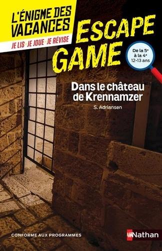 Escape Game 5e-4e. Dans le château de Krennamzer