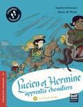 Sophie Adriansen et Marie de Monti - Lucien et Hermine, apprentis chevaliers Tome 4 : Le grand voyage.