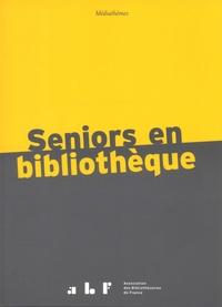 Sophie Agié-Carré - Seniors en bibliothèque.