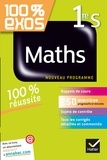 Sophie Barache et Fabrice Barache - 100% exos Maths 1re S - Nouveau programme.