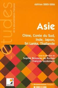 Sophie Boisseau du Rocher et François Godement - Asie - Chine, Corée du Sud, Inde, Japon, Sri Lanka, Thaïlande.