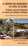Sophie Bouju - La gestion des ressources du local au global - Pratiques agro-sylvo-pastorales et impacts des politiques publiques à partir d'études de cas en Tunisie et au Niger.