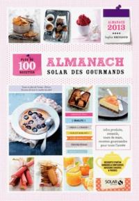 Deedr.fr Almanach Solar des gourmands - Plus de 100 recettes Image