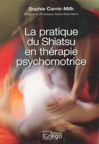 Sophie Carrié-Milh - La pratique du shiatsu en thérapie psychomotrice - Témoignage clinique et nouvelles perspectives.