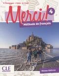 Sophie Champagne et Isabelle Rubio - Merci ! 4 A2 - Méthode de français. 1 DVD