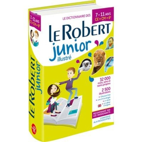 Le Robert junior illustré. CE-CM-6e  Edition 2021