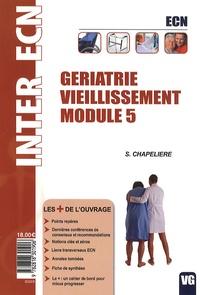 Sophie Chapelière - Gériatrie vieillissement Module 5 - ECN.