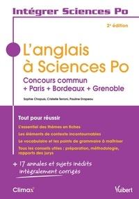 Sophie Chapuis et Cristelle Terroni - L'anglais à Sciences Po.