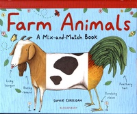 Sophie Corrigan - Farm Animals - A Mix-and-Match Book.