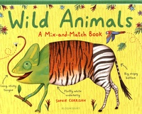 Wild Animals- A Mix-and-Match Book - Sophie Corrigan |