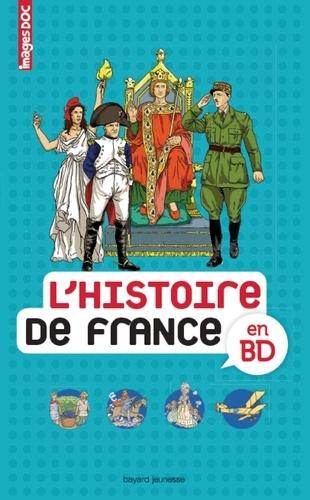 Sophie Crépon et Béatrice Veillon - L'histoire de France en BD.