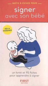 Sophie d' Olce - Boîte à fiches pour signer avec son bébé.