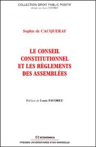 Le Conseil constitutionnel et les règlements des assemblées.pdf