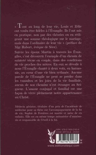 Vivre l'Evangile avec Louis et Zélie Martin