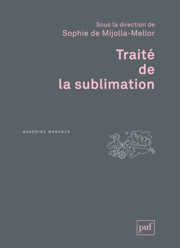 Traité de la sublimation
