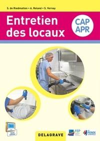 Sophie de Riedmatten et Sandrine Vernay - Entretien des locaux CAP APR.