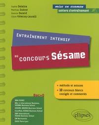 Sophie Delaitre et Matthieu Dubost - Entraînement intensif au concours Sésame.