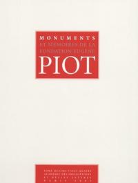 Sophie Descamps-Lequime - Monuments et Mémoires de la Fondation Eugène Piot - Tome 84.