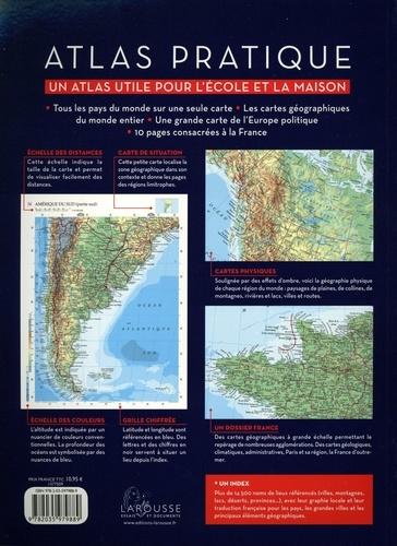 Atlas pratique. Un atlas utile pour l'école et la maison