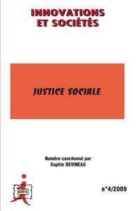 Sophie Devineau et Roland Pfefferkorn - Innovations et Sociétés N° 4/2009 : Justice sociale.