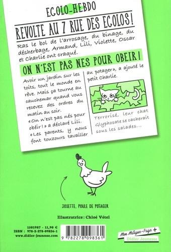 7 rue des Ecolos Tome 1 On n'est pas nés pour obéir !