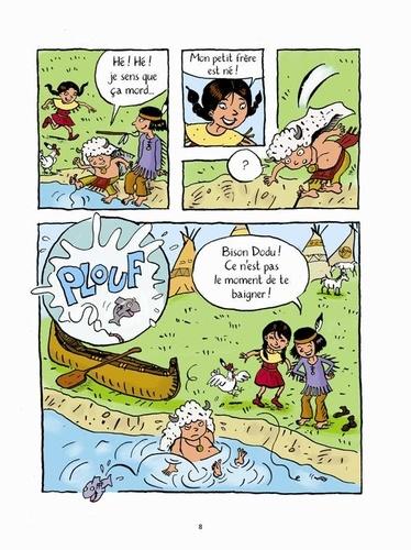 Les Papooses  A l'école des Tchipiwas. 3 histoires pour petits Indiens