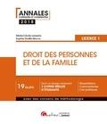 Sophie Druffin-Bricca et Marie-Cécile Lasserre - Droit des personnes et de la famille - Licence 1.