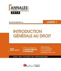 Deedr.fr Introduction générale au droit Licence 1 Image