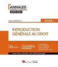Sophie Druffin-Bricca - Introduction générale au droit - Licence 1.