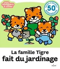 Histoiresdenlire.be La famille Tigre fait du jardinage Image