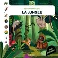 Sophie Dussaussois et Florence Guittard - Les animaux de la jungle.