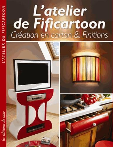 Sophie Frankfurt - L'atelier de Fificartoon - Création en carton & finitions.