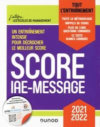 Sophie Gallix et Marie-Virginie Speller - Score IAE-Message - Tout l'entraînement.