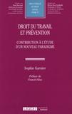 Sophie Garnier - Droit du travail et prévention.
