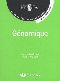 Sophie Gaudriault et Rachel Vincent - Génomique.