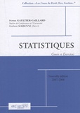 Sophie Gaultier-Gaillard - Statistiques - Cours et exercices.