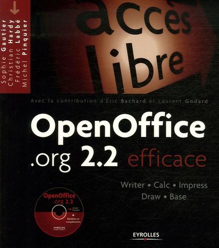 Sophie Gautier et Christian Hardy - OpenOffice.org 2.2 - Efficace. 1 Cédérom